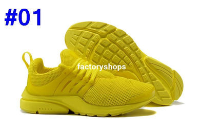 hot sale online 80a6b 8ce68 New 2018 Prestos 5 Running Shoes Men Women Presto Ultra BR QS Yellow Pink  Oreo Outdoor