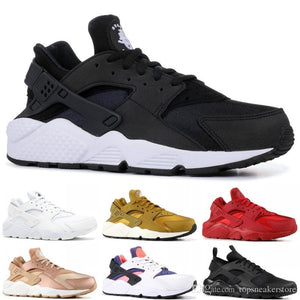 58a1dd5b81a85 2019 Huarache 1.0 4.0 Running Shoes Men Women Top Quality Stripe Balck  White Oreo Sport Shoes Designer Sneakers Trainers 36-4