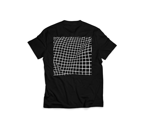 T-shirt Distorted Grid