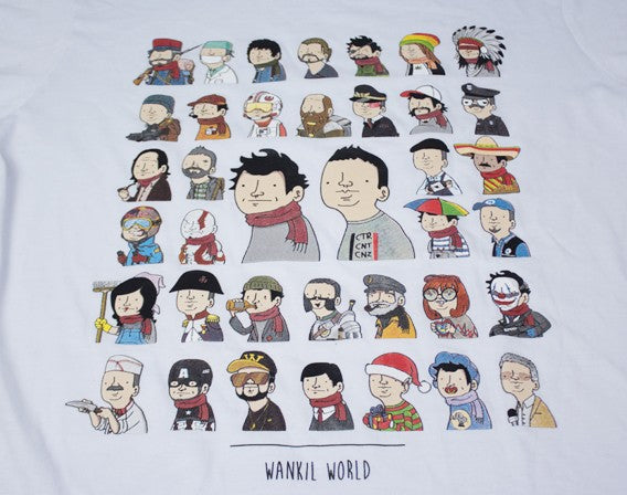 T-shirt Wankil World
