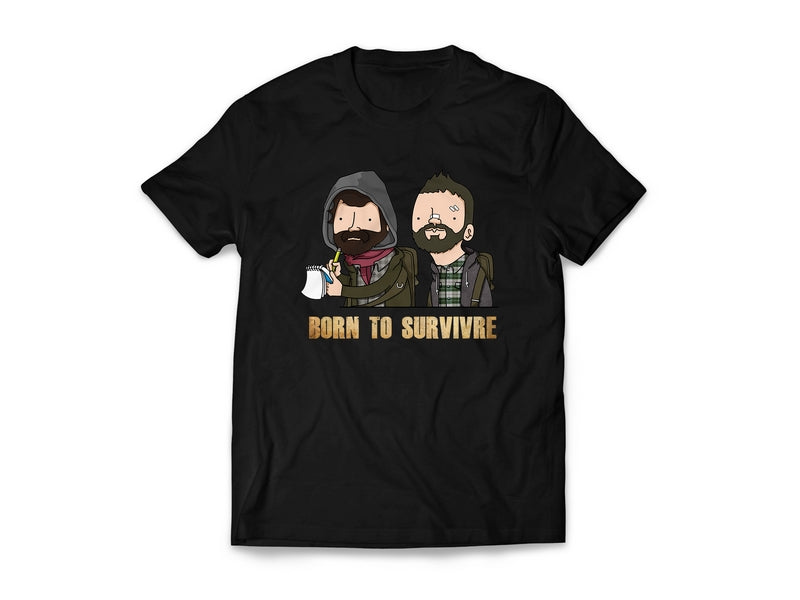 T-shirt Born to Survivre