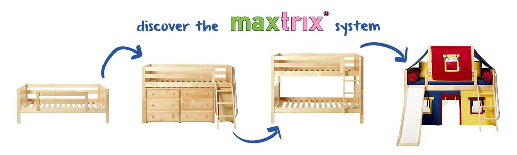 Maxtrix kids, furniture that grows with your kids