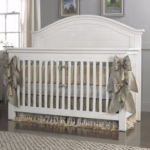 Lucca Convertible Crib Curve Panel