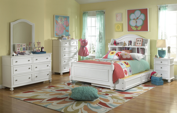 Madison Bookcase  Bed with Trundle