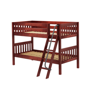Twin XL Low Bunk Bed