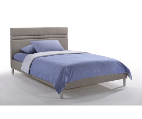 Orion Platform Bed Grey