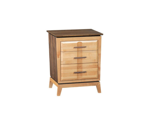 DUET Addison 3‑Drawer Nightstand