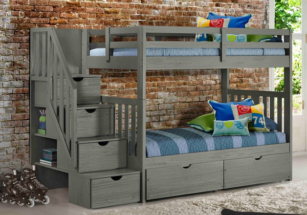 Cambridge Bunk Bed Grey
