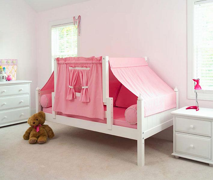 brand new 209e6 d77df Twin Toddler Bed with Tent