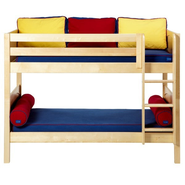Low Bunk w/ Straight Ladder
