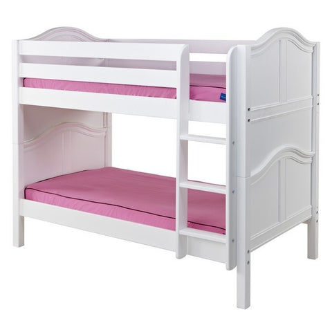 Twin/Twin Low Bunk w/ Straight Ladder