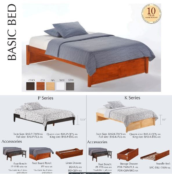 Basic Platform Bed K-Series