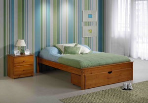 Innovations Cheyenne Platform bed in Pecan