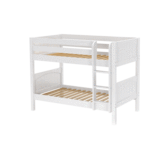 Twin/Twin Low Bunk w/Angle Ladder