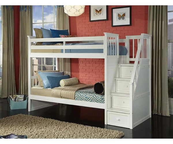 Schoolhouse 4.0 Stair Bunk Twin/Twin