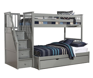 Schoolhouse 4.0 Stair Bunk Twin/Full