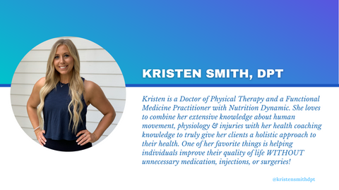 kristen smith dpt doctor physical therapy functional health coach functional medicine practitioner online health coaching