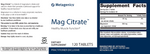 Mag Citrate