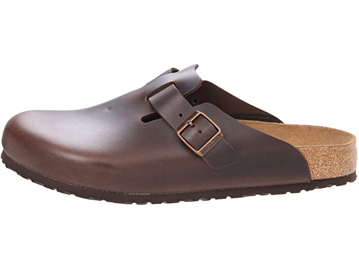Boston Brown Soft Footbed