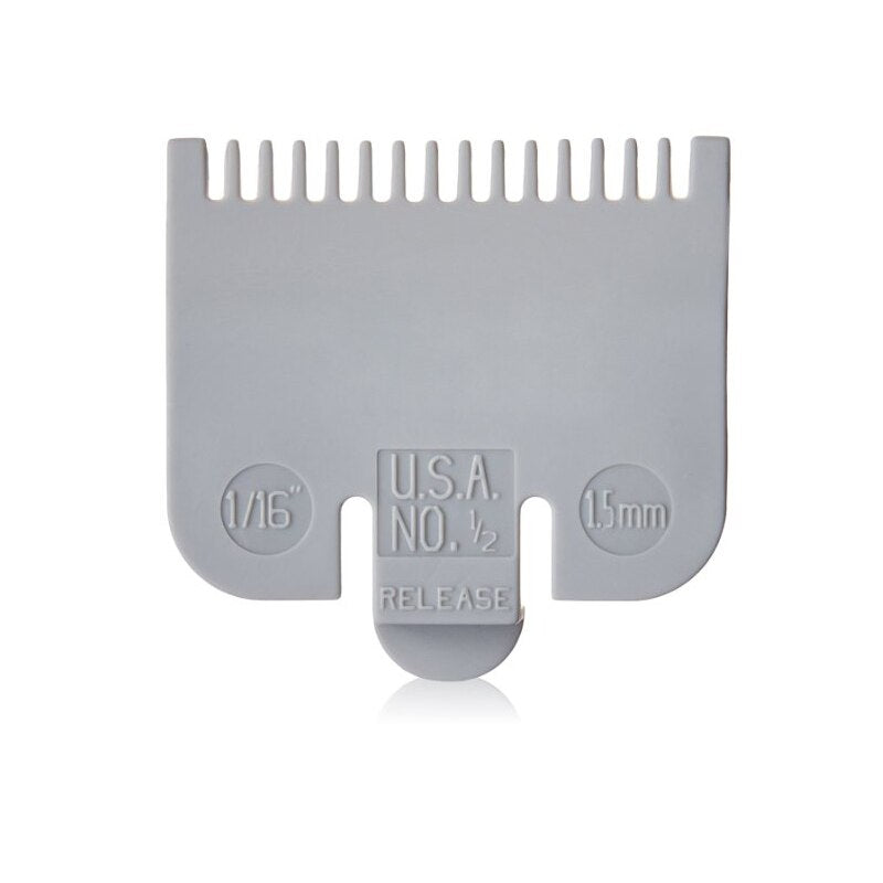 Wahl Coloured Plastic Clipper Comb #1/2
