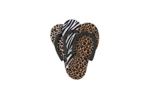 Cuccio Pedi Slipper - Animal Print (12pk)