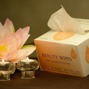 Beauty Wipes (Box of 75, Carton of 36)