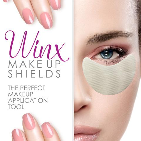Winx Makeup Shields (1 Box of 30 pairs)