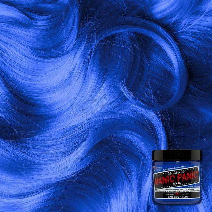 Manic Panic Bad Boy Blue 118ml High Voltage® Classic Cream Formula Hair Color