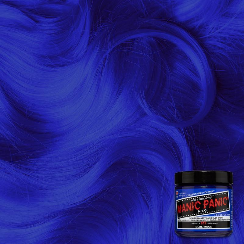 Manic Panic Blue Moon 118ml High Voltage® Classic Cream Formula Hair Color