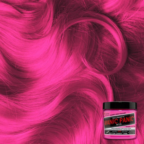 Manic Panic Cotton Candy 118ml High Voltage® Classic Cream Formula Hair Color
