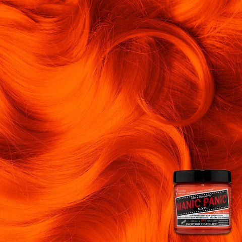 Manic Panic Electric Tiger Lily 118ml High Voltage® Classic Cream Formula Hair Color