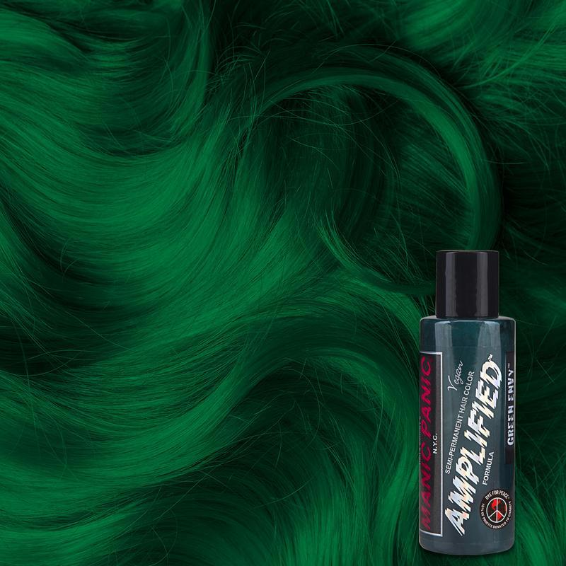 Manic Panic Green Envy 118ml Amplified™ Squeeze Bottle Formula Hair Color