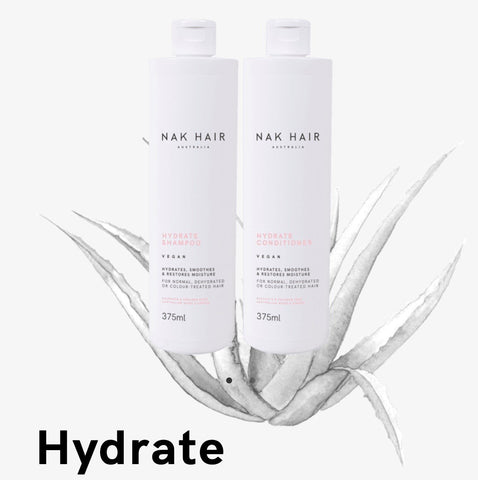 NAK Hydrate Shampoo/Conditioner DUO 500ml