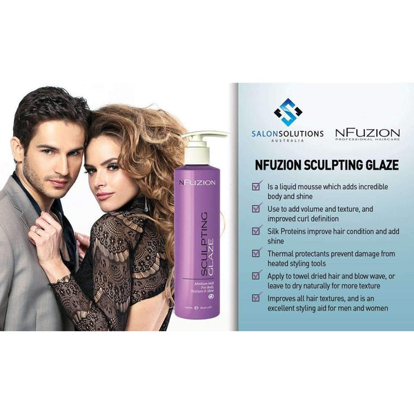 NFuzion Professional Sculpting Glaze 250ml,Salon Supplies To Your Door