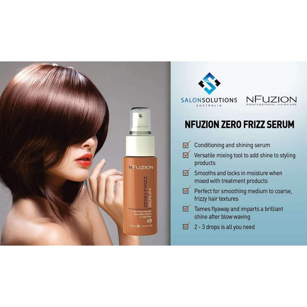 NFuzion Professional Zero Frizz Serum 60ml,Salon Supplies To Your Door
