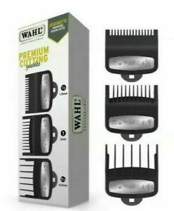 Wahl Premium 3 Pack Clipper Guard Attachment Comb Set - Size: ½ , 1 & 1½
