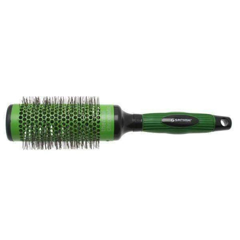 SANTORINI THERMAL CHROMATIC NYLON RADIAL 44MM GREEN BRUSH,Salon Supplies To Your Door