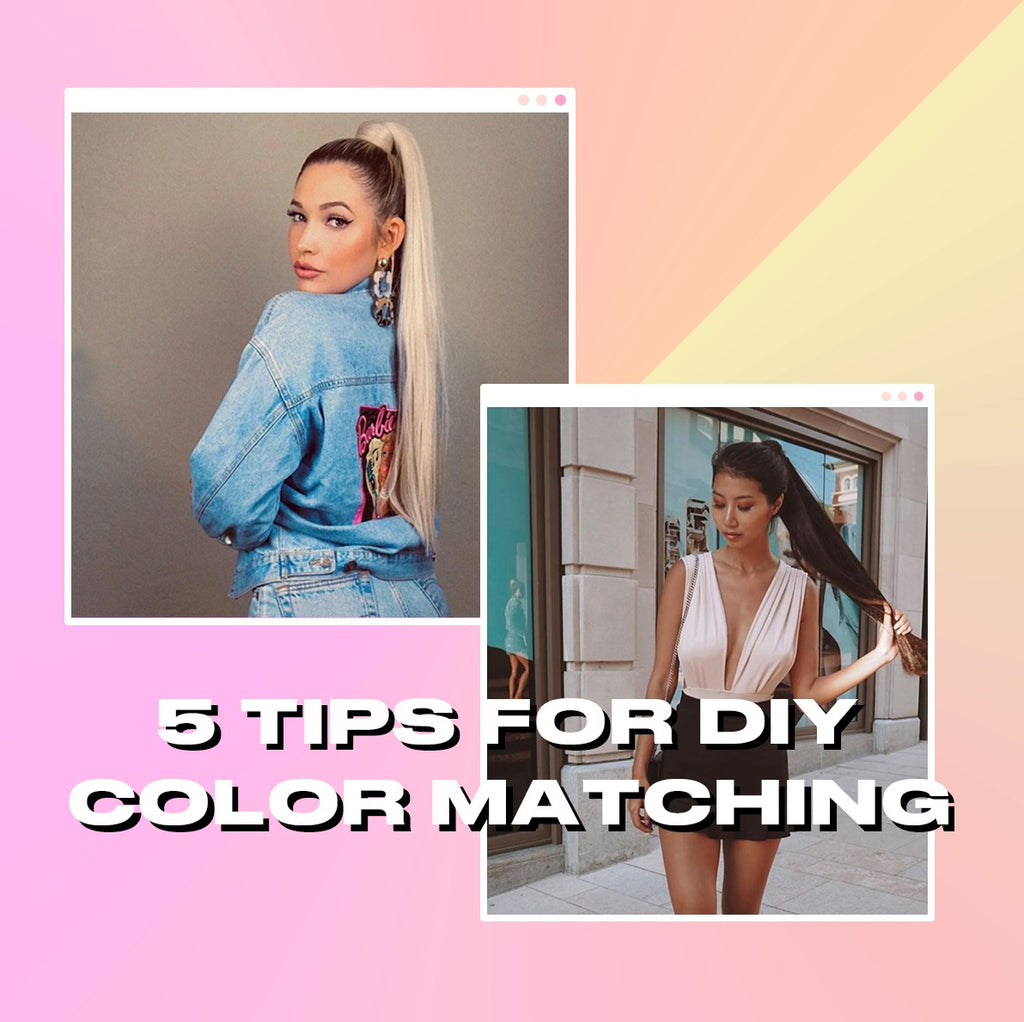 5 Tips For DIY Color Matching