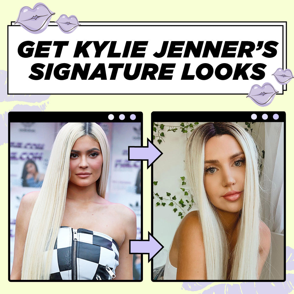 5 Kylie Jenner Looks Using Hair Extensions and Wigs