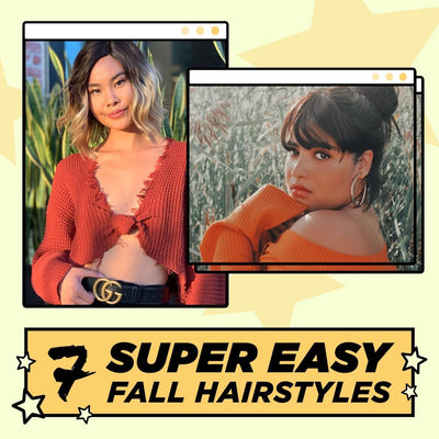 7 Easy Hair Looks for Fall