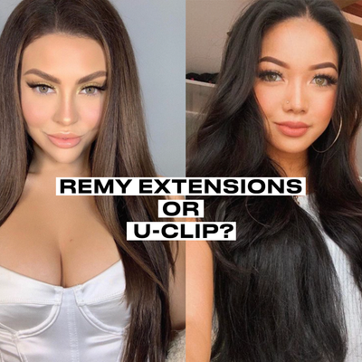 Remy Extensions or U-Clip?