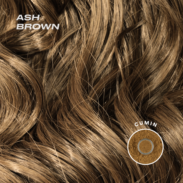 ash brown color swatch