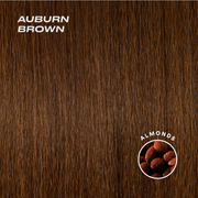 auburn brown color swatch