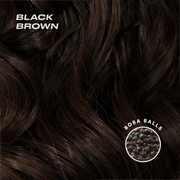 black brown color swatch
