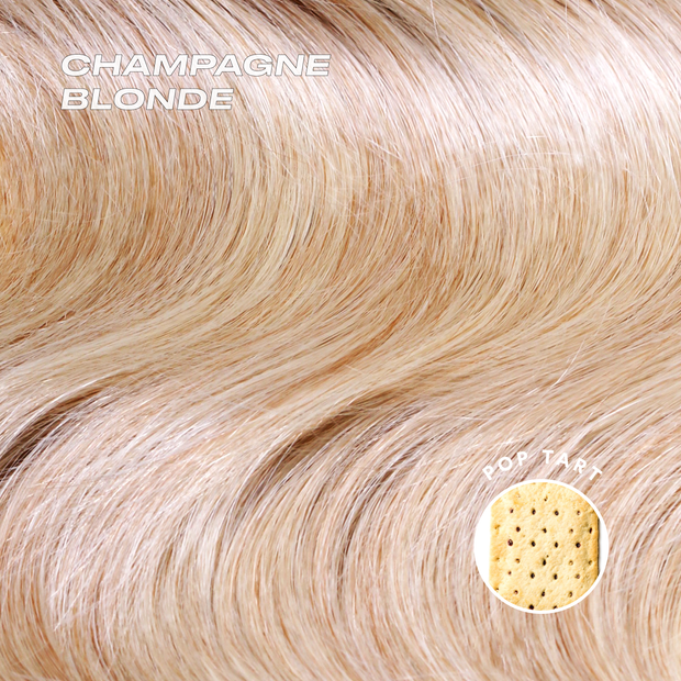 champagne blonde color swatch