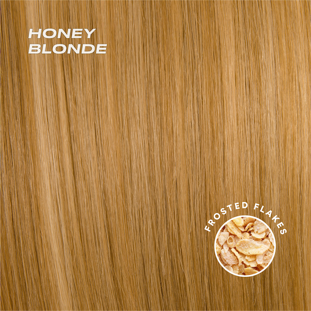 honey blonde color swatch