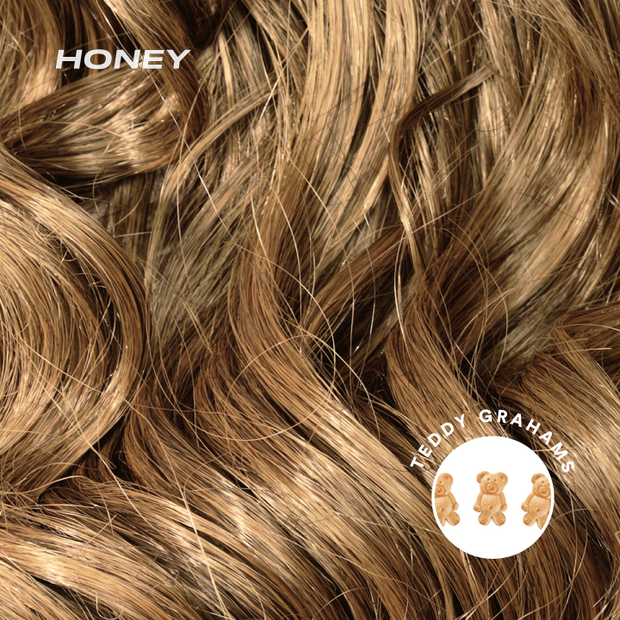 honey color swatch