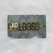 Girl Boss Hair Pin