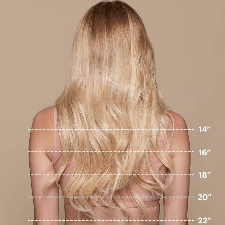 remy human hair showcasing length