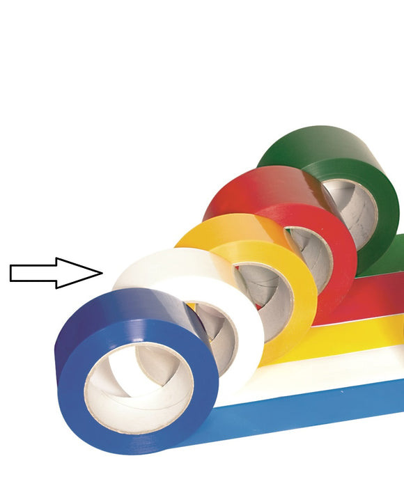 Witte PRO-line zelfklevende tape - 50 mm breed - 261.16.606.